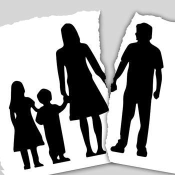 Hoe vertelt u de kinderen dat u gaat scheiden?